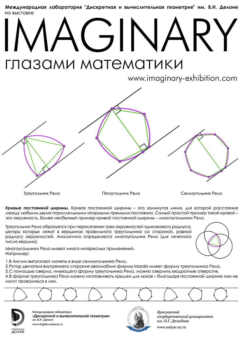 Кривые постоянной ширины